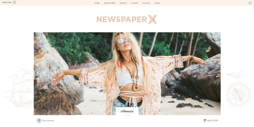 Newspaper WordPress Theme for Blogs, Magazines & More