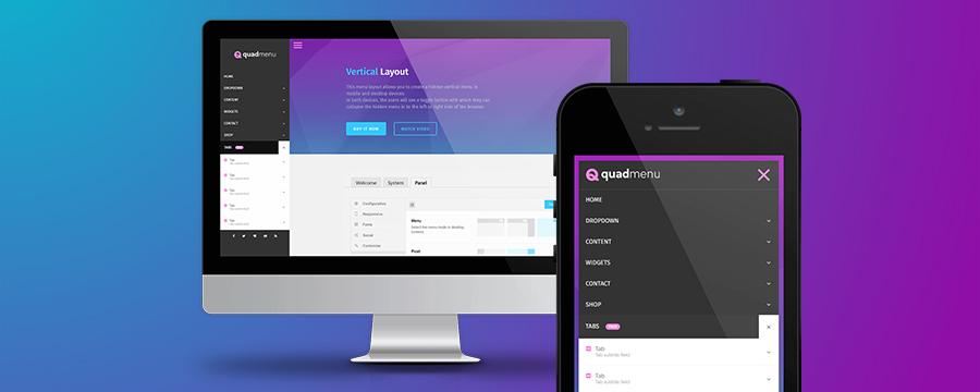 QuadMenu Premium WordPress Mega Menu Plugin