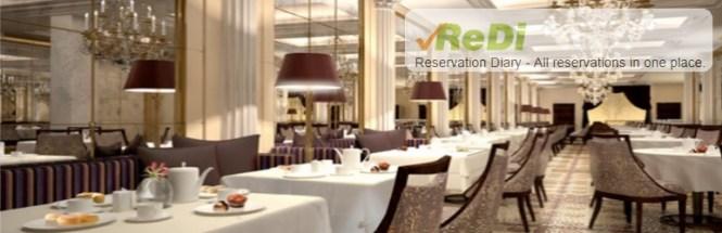 Réservation au restaurant ReDi