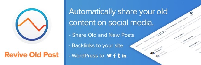Revive Old Posts - Auto Post sur les médias sociaux
