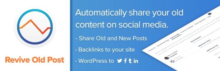 Revive las publicaciones antiguas - Publicación automática en las redes sociales