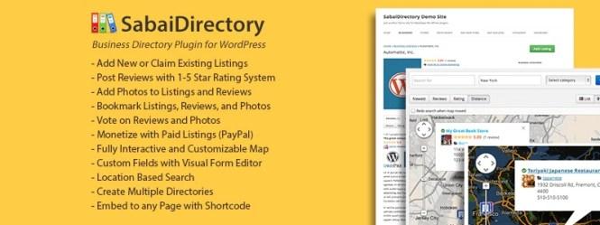 Plugin Sabai Directory pour WordPress