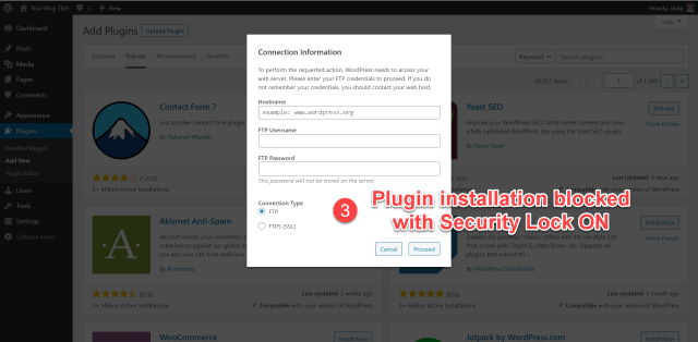 scala swordpress manager options - security lock 3