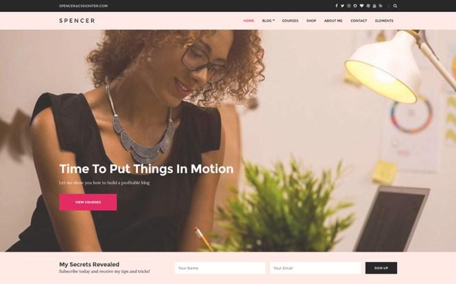 Thème WordPress Spencer Business