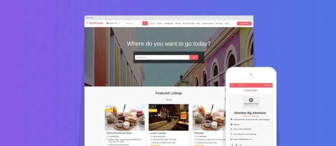 Répertoire Spot Finder WordPress Theme