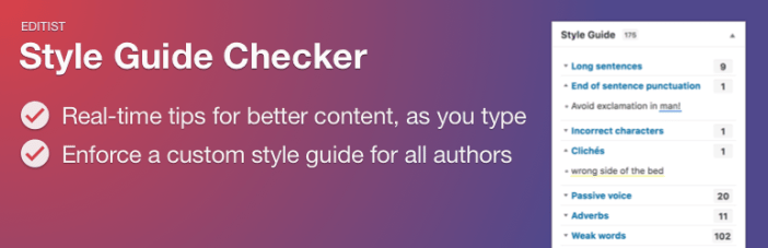 Guía de estilo Checker Free WordPress Plugin