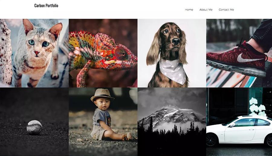Thumbs Portfolio Free Theme