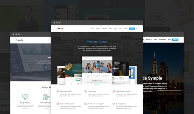 Thème WordPress polyvalent réactif total