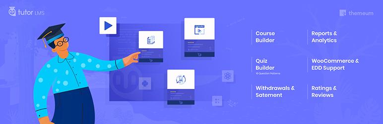 Tutor Complete LMS решение для WordPress