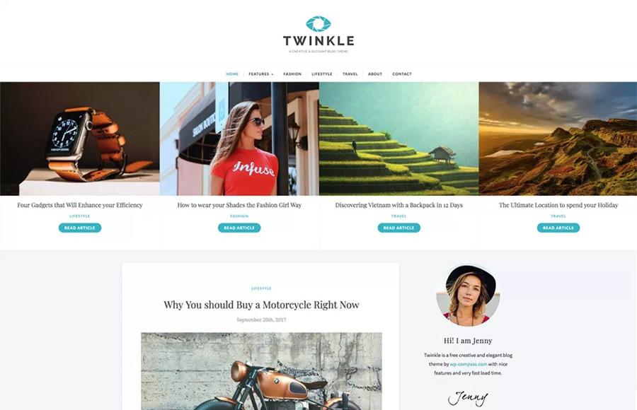 Twinkle WordPress Theme