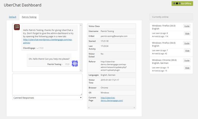 Uber Chat WordPress Plugin