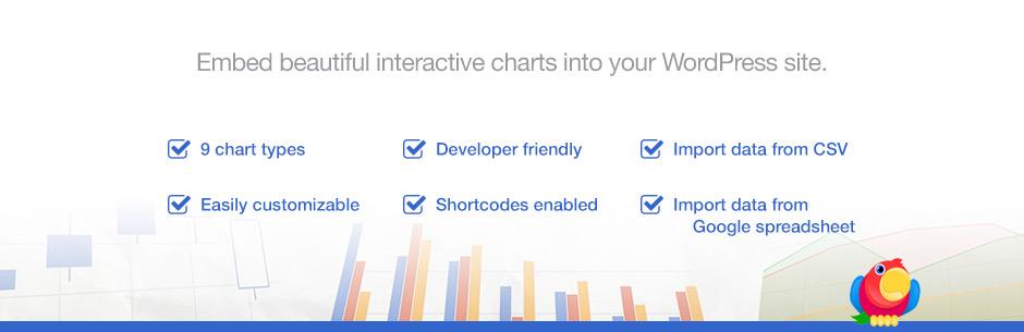 Визуализатор: Диспетчер таблиц и диаграмм для WordPress