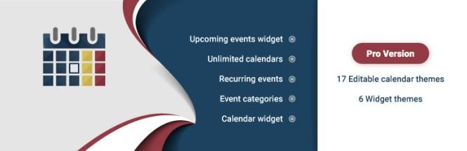 WD Event Calendar Plugin WordPress gratuit