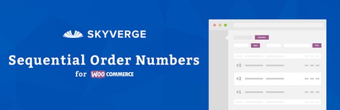 Números de orden secuencial de WooCommerce Plugin gratuito de WordPress