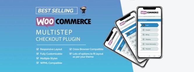 Assistant de paiement en plusieurs étapes de WooCommerce