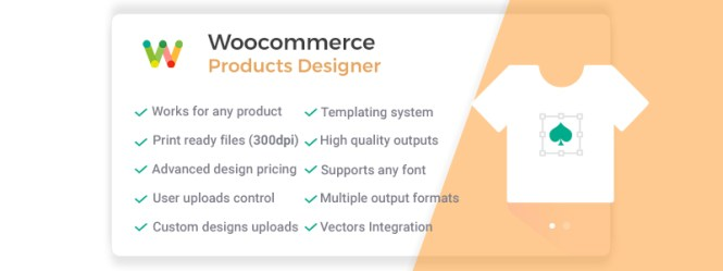 WooCommerce Online Products Designer