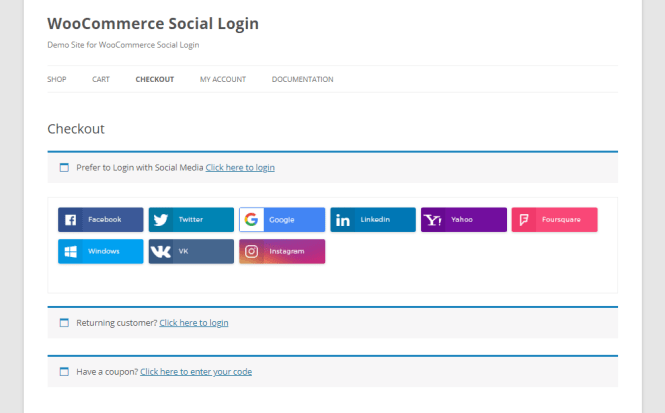 woocommerce social plugin