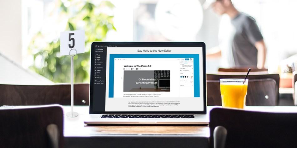 WordPress 5.0 Release: The New Frontier