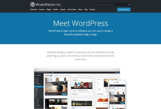 WordPress.org ، WordPress autohospedado
