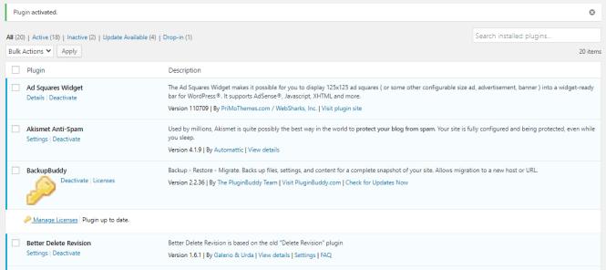 Plugin WP Mail Logging