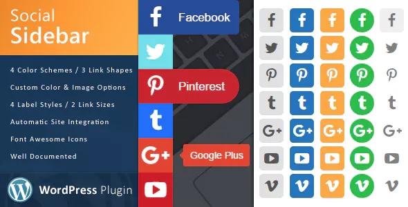 Plugin Social Sidebar