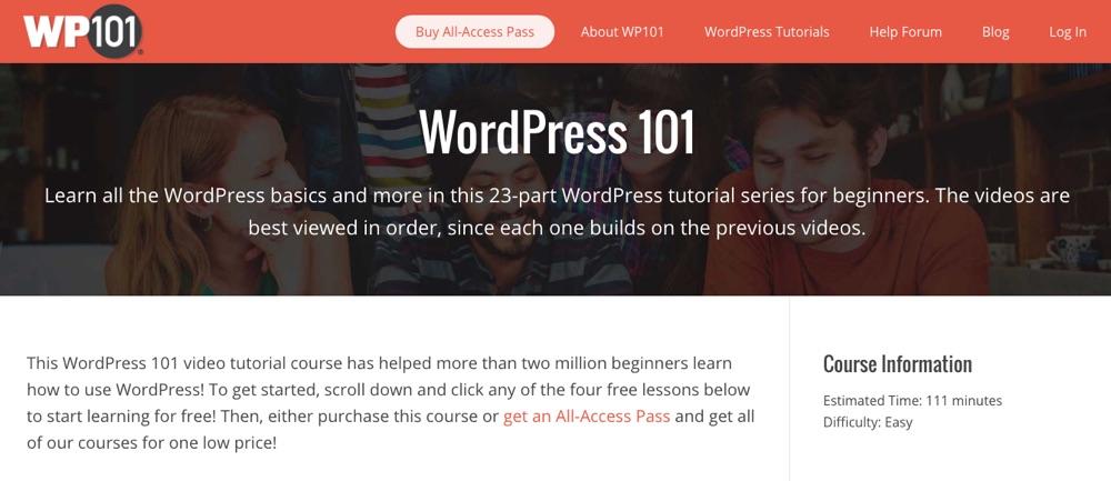 WordPress 101: основы от WP101