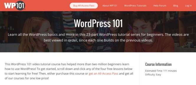 WordPress 101: les bases de WP101