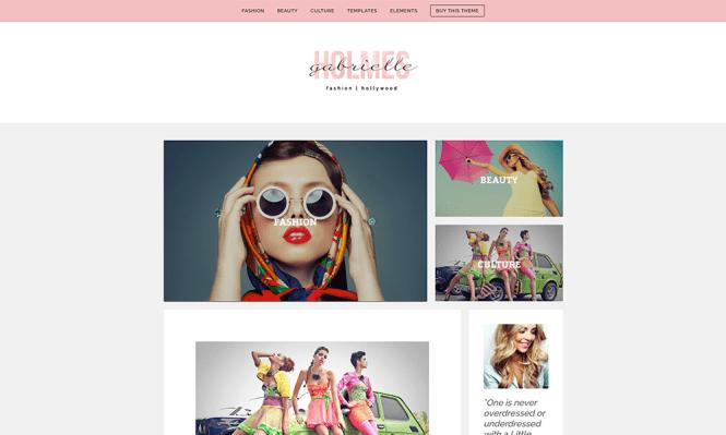 Thème WordPress WP Beauty
