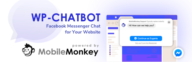 WP-Chatbot par MobileMonkey
