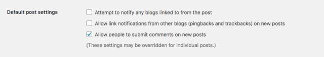 الإشراف على تعليقات WordPress: Trackbacks و Pingbacks