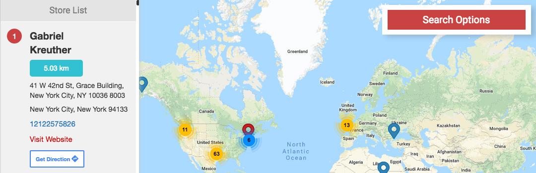 WP Multi Store Locator Pro WordPress Plugin