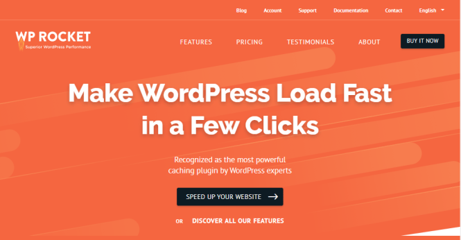 plugin de cache wp rocket wordpress