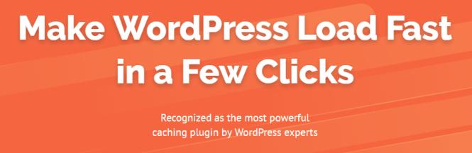 Plugin de cache WordPress WP Rocket