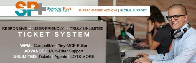 Plugins du Helpdesk WordPress: WP Support Plus