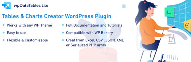 wpDataTables Lite - WordPress Table Plugin
