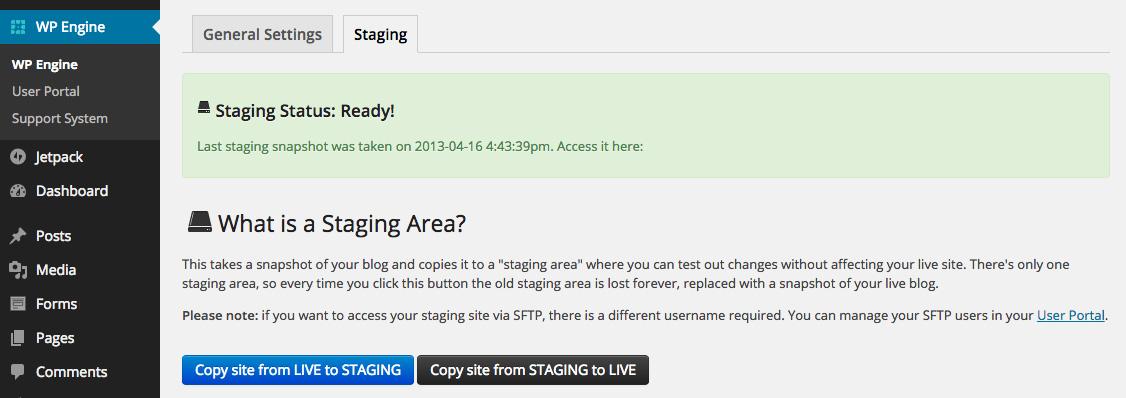 wpengine-staging