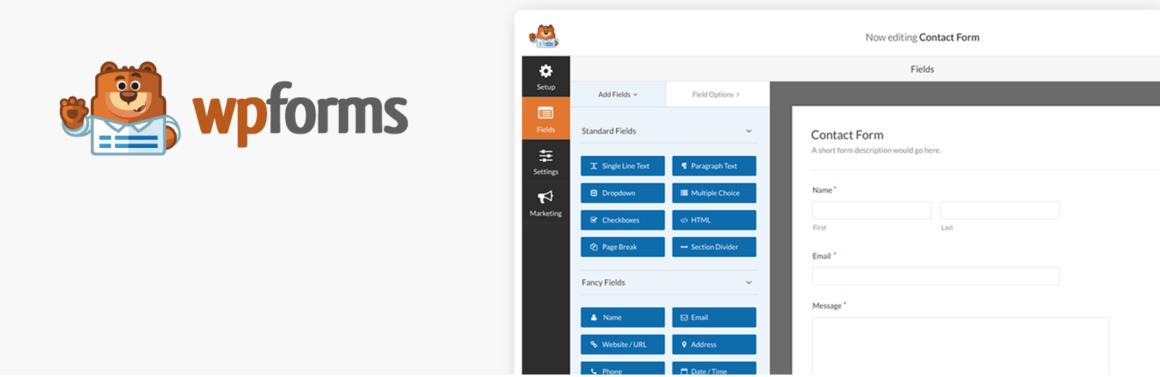 WPForms WordPress Плагин