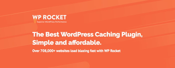 WP Rocket WordPress Caching Plugins