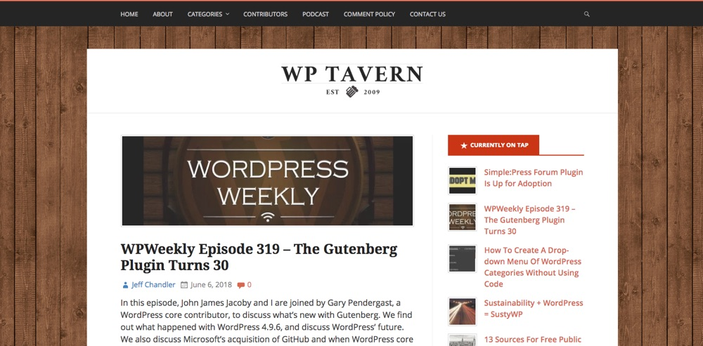 WordPress Blogs You Should Follow - WPtavern