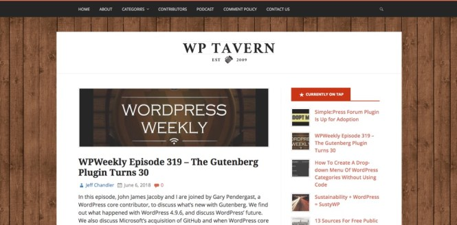 Blogs WordPress à suivre - WPtavern