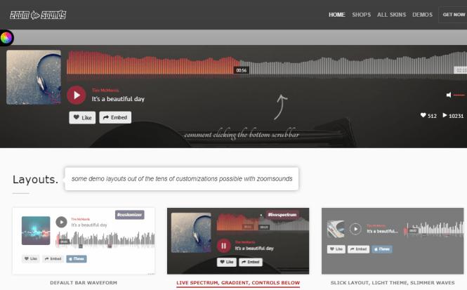 zoomsounds wordpress musique plugin