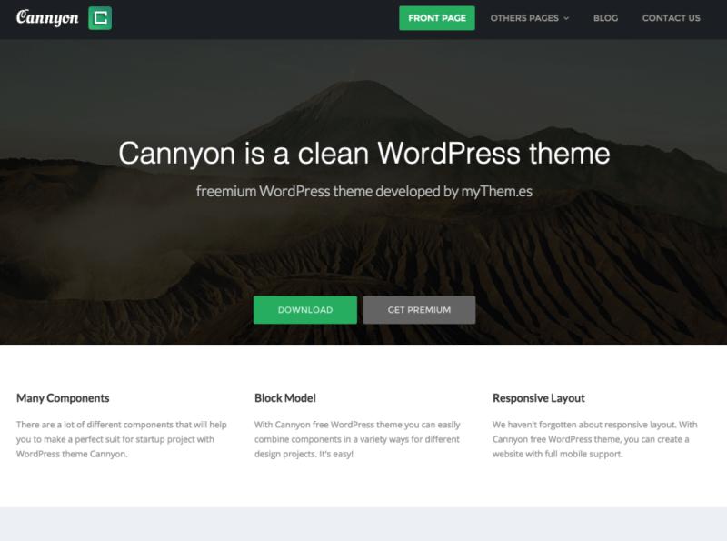 free wordpress topics