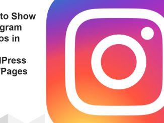 How to Show Instagram Photos in WordPress