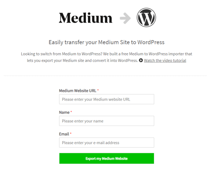 How to Migrate Medium Blog to Self Hosted WordPress