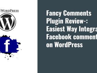 How to Integrate Facebook comments in WordPress