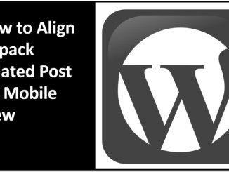 How to Align Jetpack Related Posts for Mobile View