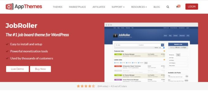 Top 10 Job Board WordPress Themes