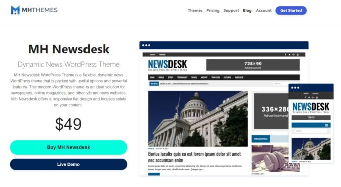 Best Newspaper WordPress Themes in 2020