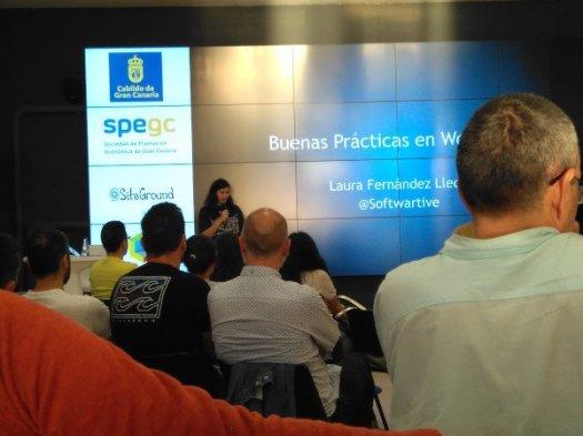 Meetup de Laura Fernández sobre buenas prácticas