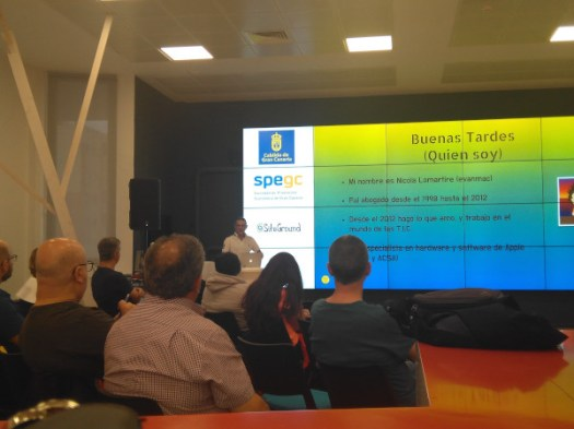 Meetup de Nicola Lomartire sobre rendimiento de las páginas webs
